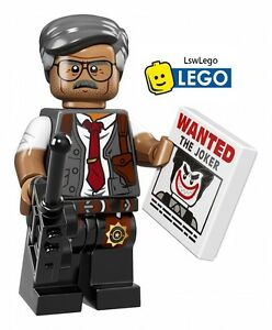 NEW LEGO Minifigures Commissioner Gordon The Batman Movie 71017 Genuine Figure
