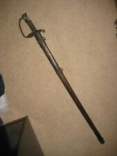 Well Aged Civil War Us Union Ames Officer Sword M1850 Copy