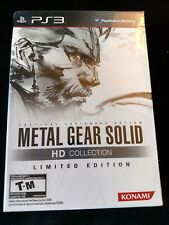 Metal Gear Solid HD Collection -- Limited Edition (Sony PlayStation 3, 2011)