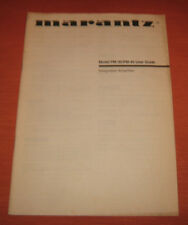 "Libri/Riviste/Giornali/TV/Audio/Video/Manuale""MARANTZ MODEL PM30-40 USER GUIDE"""