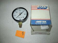 """NEW IN BOX USG AMETEK PRESSURE GAUGE 05930A 2-1/2"""" P505A 30 PSI 1/8 NPT (DR2F2)"""