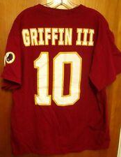 WASHINGTON REDSKINS Robert Griffin lrg T shirt quarterback NFL tee #10 logo RG3