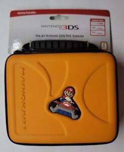 Nintendo 2DS 3DS XL Game Traveler Travel Case Orange Mario Kart