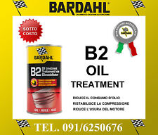 BARDAHL B2 OIL TREATMENT 400 ML TRATTAMENTO MOTORI BENZINA E DIESEL