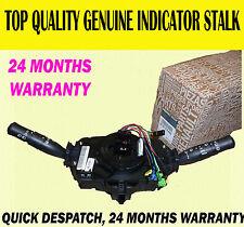 FOR RENAULT MEGANE II 2002-2009 CLOCK SPRING AIR BAG SQUIB INDICATOR WIPER STALK