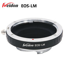 Weidon Canon EOS EF lens to Leica M camera Ring for M9 with TECHART LM-EA7