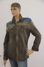 DIESEL Jacke Jeansjacke Jeans braun Kord Damen M (1703A-BR-OH#) 02/2020SD