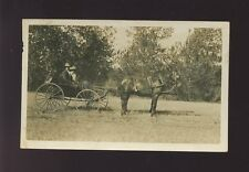Social History unlocated HORSE and CARRIAGE Used 1914 RP PPC