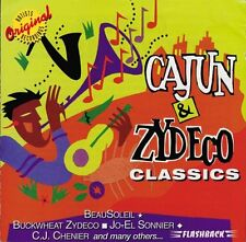 CAJUN & ZYDECO CLASSICS  -  Various Artists - CD New Sealed