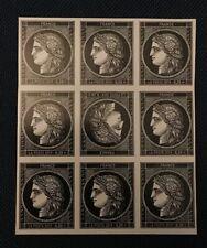 Timbres neuf, cérès 170ans premier timbre FR 0.20 salon champerret Tête Bêche