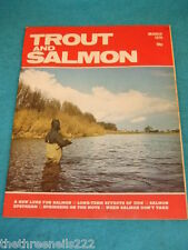 TROUT AND SALMON - SALMON UPSTEAM - MARCH 1979