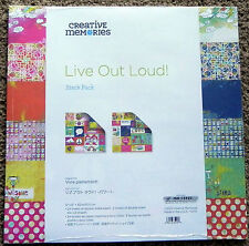 CREATIVE MEMORIES LIVE OUT LOUD STACK PACK BNIP *FROM USA*
