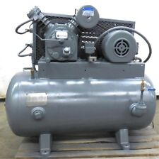 INGERSOLL RAND AIR COMPRESSOR TYPE 30, MODEL 242-5C3, 5HP MOTOR, SER. 30T-490875