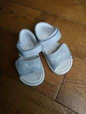 PRIMIGI BABY GIRLS REAL LEATHER SANDALS SIZE INFANT 5