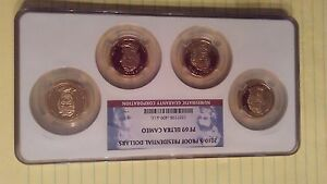 2010-S NGC PF69 ULTRA CAMEO PRESIDENTIAL 4-COIN DOLLAR PROOF SET