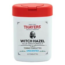 THAYERS  Unscented Toning Towelettes  30 Towelettes (Pack of 4) FREE SHIPPING