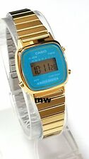CASIO DIGITAL GOLD TONE RETRO VINTAGE Ladies Classic Quartz LA670WGA-2D FreeShip
