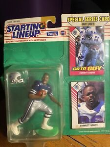 1993 Starting Lineup Emmitt Smith Special Series Card, Sealed In Box
