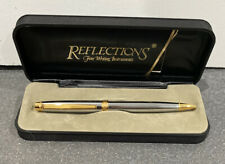 *NEW* Reflections Fine Writing Instruments Black Ink Pen No Engraving *NEW*