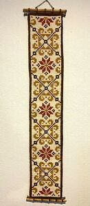 Scandinavian Tapestry Wall Art Embroidery Gobelin Stitch Needlepoint Tapestry