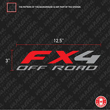 2X FX4 OFF ROAD FORD F150 F-150  sticker vinyl car decal