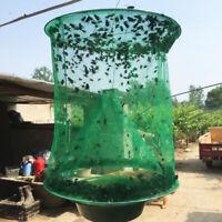 JI_ BU_ The Ranch Fly Trap Fly Catcher Killer Cage Net Trap Pest Bug Catch Hot