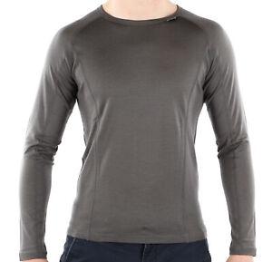 Carnac Long Sleeve Merino Base Layer Slate
