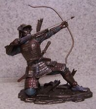 Figurine Statue Asian Japanese Samurai Archer NEW with gift box