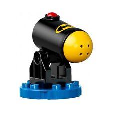 Duplo - Cannon Shooting w/ Half Canon Ball & Red Firing Button & Batman Logo