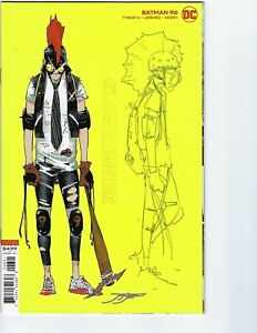 BATMAN #96 | Jorge Jimenez 1:25 Design Variant | 1st Clownhunter | 2020 | NM