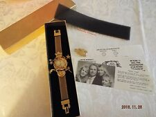 1994 Kirks Folly Watch Angel Time 15 Anniversary Special Edition in Box Complete