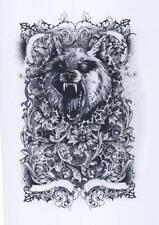 WEREWOLF  Weird  Reproduction A3 Poster Print