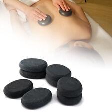 7pcs Hot Health Spa Rock Basalt Stones Massage Lava Natural Stone for Body&Face