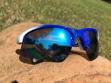 Maxx HD Sunglasses Domain HDP white blue polarized golf smoke revo mirrored