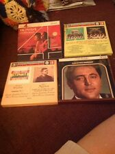 Lot If 4 Reel To Reel Tapes Stanley Black Russia Andre Previn,fritz Wunderlich