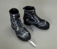1/6 Scale Hot Toys MMS128 Blade 3 Trinity Abigail Whistler Boots w/ Knife Dagge