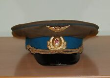 Air Forces Russian Soviet Red Army Pilot Peaked Cap Military Field Uniform USSR