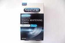 Rapidwhite Express Dissolving Tooth Whitening Strips - 1 Week Supply