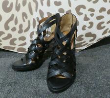 Givenchy leather sandals heels  NIB