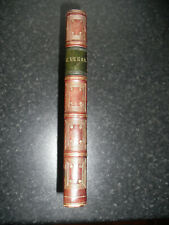 MAMMON 1836 HALF LEATHER BINDING