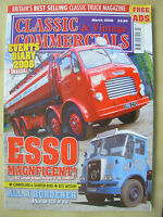 CLASSIC & VINTAGE COMMERCIALS MAGAZINE MARCH 2008 RESTORED LEYLAND OCTOPUS