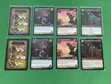 World of Warcraft Promo Card lot, Nimaasus, Veranis Bitterstar, Dark Portal Wow