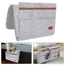 Felt Bedside Organizer Bed Pocket Hanging Storage Bag Phone/Book/Pad Holder Pro