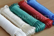 10 15 20 25& 30m Strong Core Plastic Cover Washing Clothes Dryer Line Rope Twine