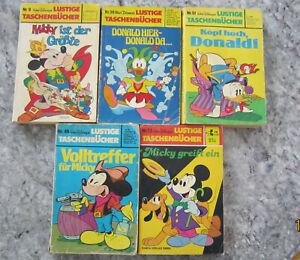Lustige Taschenbücher Walt Disneys Donald Duck Konvolut 13 Bücher