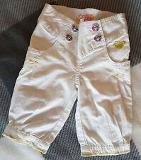 Roxy pants baby girls, wihite size 2