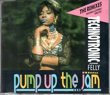 Technotronic   CD-SINGLE  PUMP UP THE JAM  ( THE REMIXES )