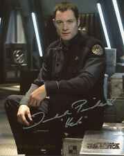 Battlestar Galactica Tahmoh Penikett 'Helo' 8X10 Color Photo ~ Signed