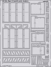 Eduard 1/35 Foto-Grabado defensas para Zvezda Tiger I Ausf. e principios de #3646