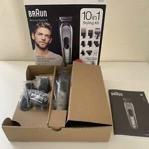 Braun MGK7221 All-in-one Trimmer 7 Face Beard & Body Clippers 10in1 Styling Kit